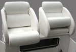 flip up racing bolster seats
