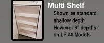 Multi Shelf