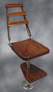 Mahogany Bar Chair