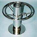 Stainless Round Footrest