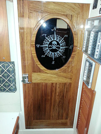 CUSTOM boat doors - teak & Special Pricing and Discounts on Used Marlin Chairs Used Fighting ...
